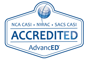 AdvancED/SACS Accreditation Seal